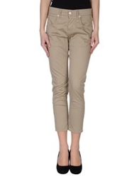 Two Women In The World Casual Pants Khaki