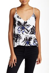 Necessary Objects Printed Flounce Cami Multi