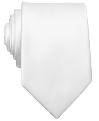 Bar Iii Carnaby Collection Sable Solid Tie White