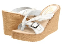 Sbicca Horizon White Women's Wedge Shoes