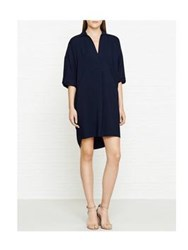 Whistles Lola Casual Dress Navy