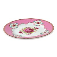 Pip Studio Floral Side Plate Pink
