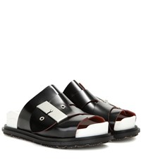 Acne Studios Akua Leather Sandals Black