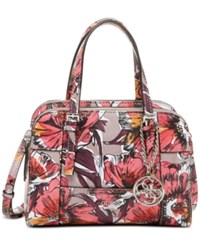 Guess Huntley Small Cali Satchel Passion Floral