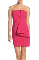 Adelyn Rae Women's Layered Strapless Sheath Dress
