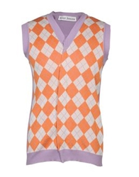 Peter Jensen Sweater Vests Orange