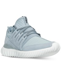 Adidas Men's Tubular Radial Casual Sneakers From Finish Line Vintage White Black