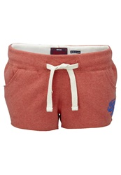 Superdry Stacker Volley Shorts Red Marl
