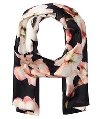 Echo Dazzling Orchid Oblong Pomegranate Scarves Pink