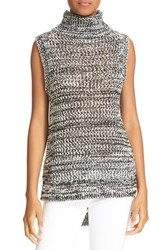 Derek Lam Women's 10 Crosby Cotton Sleeveless Turtleneck