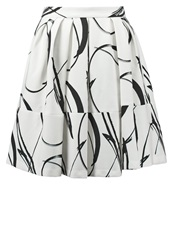 Banana Republic Pleated Skirt Cocoon Off White