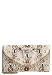 Glamorous Clutch Gold Pink