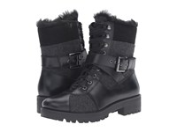 Nine West Orithna Black Grey Multi Leather Women's Boots