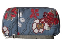 Haiku Fortitude River Floral Print Handbags Blue