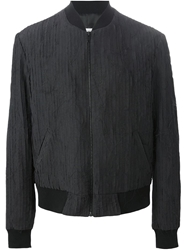 Maison Martin Margiela Maison Margiela Striped Panel Bomber Jacket