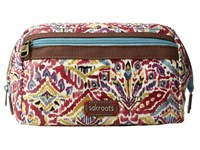 Sakroots Artist Circle Carryall Cosmetic Sweet Red Brave Beauti Cosmetic Case Brown