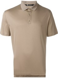 T By Alexander Wang Classic Polo Shirt Nude And Neutrals