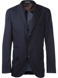 Brunello Cucinelli Travel Jacket Blue