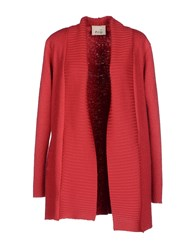 Niu' Knitwear Cardigans Women Red
