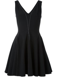 Opening Ceremony Short Flared Dress Black