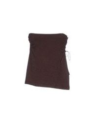 Plein Sud Jeans Tube Tops Dark Brown