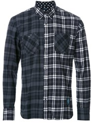 Guild Prime Three Star Plaid Shirt Black