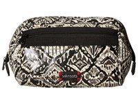 Sakroots Artist Circle Carryall Cosmetic Jet Brave Beauti Cosmetic Case Black