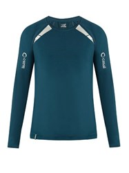 Casall M Power Long Sleeved Performance T Shirt Blue