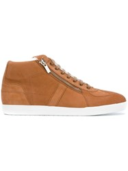 Christian Dior Homme Side Zip Hi Top Sneakers Nude Neutrals
