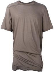 Rick Owens Level T Shirt Nude And Neutrals