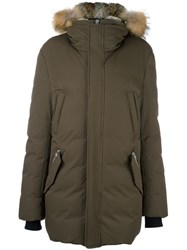 Mackage 'Edward' Parka Coat Green