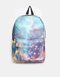 Spiral Galaxy Backpack Blue