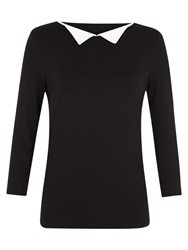 Hobbs Holly Point Collar Top