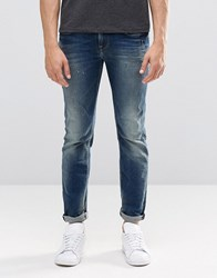Pepe Jeans Kingston Straight N56 Mid Wash Sanfore Twist Blue