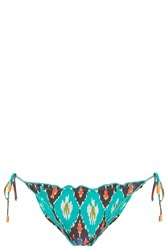Vix Swimwear Rippled Bikini Bottom Multi