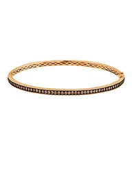 Levian Gold Diamond Bangle Bracelet In 14K Strawberry Gold Rose Gold