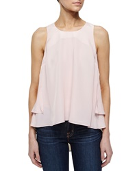 Madison Marcus Layered High Low Tank Pale Pink