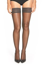 Women's Falke 'Pure Matt 20' Stay Up Stockings