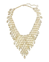 Kendra Scott Tanay Statement Bib Necklace Gold Metal