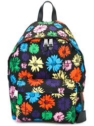 Moschino Daisy Print Backpack Multicolour