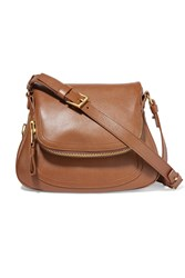 Tom Ford Jennifer Medium Textured Leather Shoulder Bag