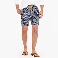 J.Crew 9 Board Short In Navy Floral