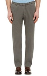 Boglioli Men's Pique Trousers Grey