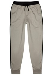 Public School Tevis Two Tone Jersey Jogging Trousers Beige