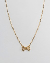 Ted Baker Tiny Geometric Pendant Necklace Gold