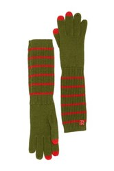 Marc By Marc Jacobs Eva Wool Gloves Green