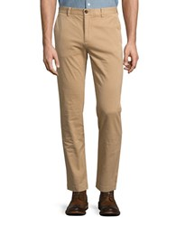 Brooks Brothers Straight Leg Chino Pants Beige