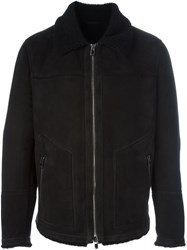 Drome Zipped Jacket Black