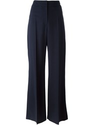 Cacharel Classic Palazzo Trousers Blue