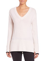 Rag And Bone Flavia Cashmere V Neck Sweater Ivory